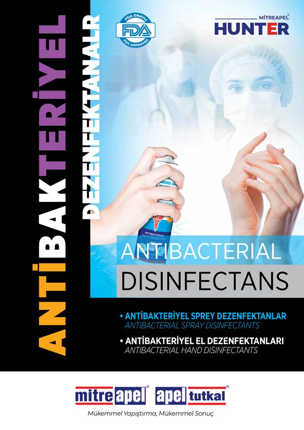 Antibakteriyel Dezenfektanlar